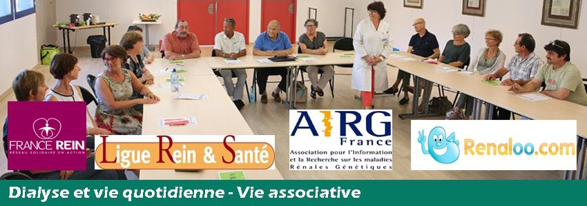 Dialyse et vie quotidienne - vie associative